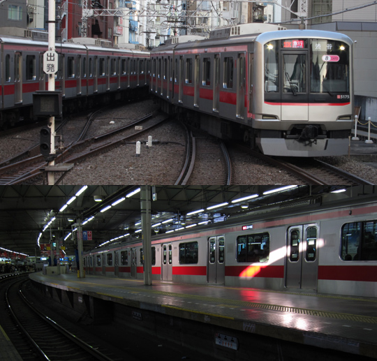 東横線渋谷駅07