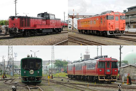 釧路車両所公開2012 1