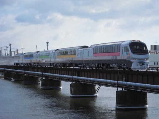 おおぞら82号2013 新釧路川橋梁