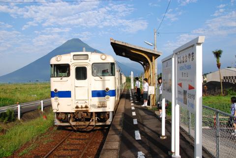 西大山駅2