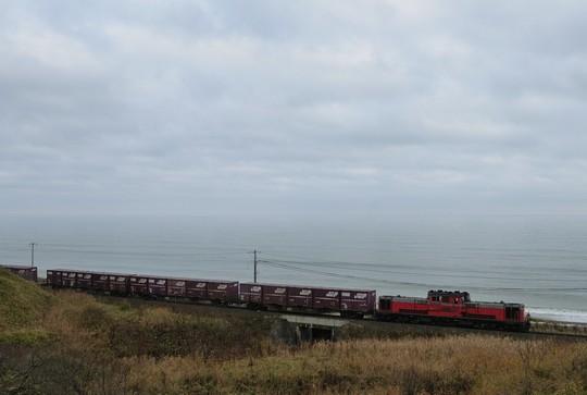 2092レ DD51 音別海岸