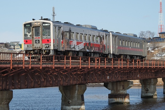 ルパン列車06 釧路川橋梁