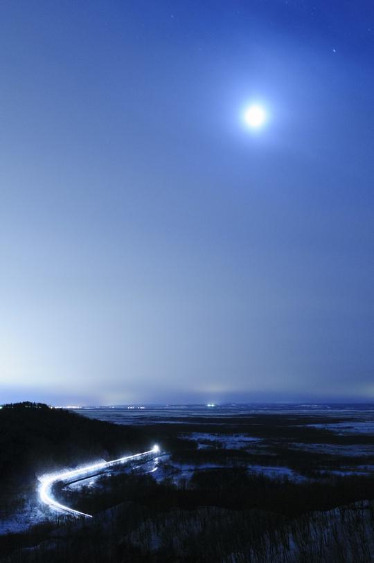 月夜の銀河鉄道