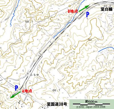 古瀬 地図