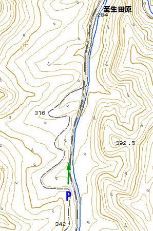 146キロポスト地図