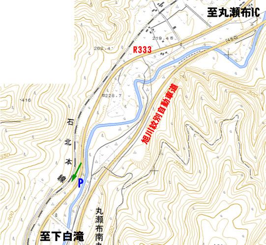 丸瀬布 地図