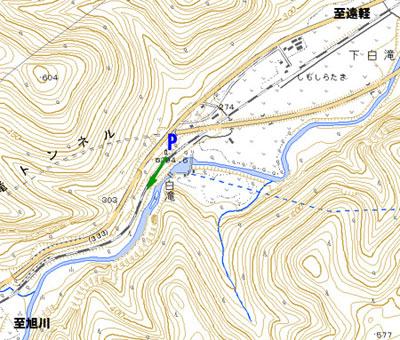 白滝発祥の地 地図